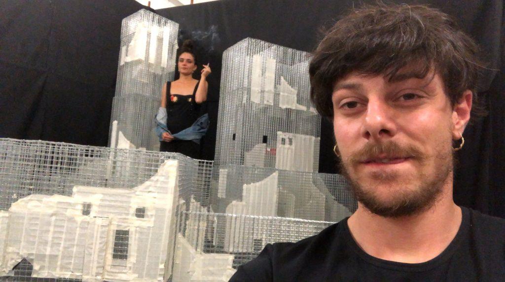 Tresoldi In Un Selfie In Una Pausa
