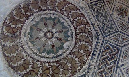 Villa Romana Di Casignana Un Mosaico Geometrico