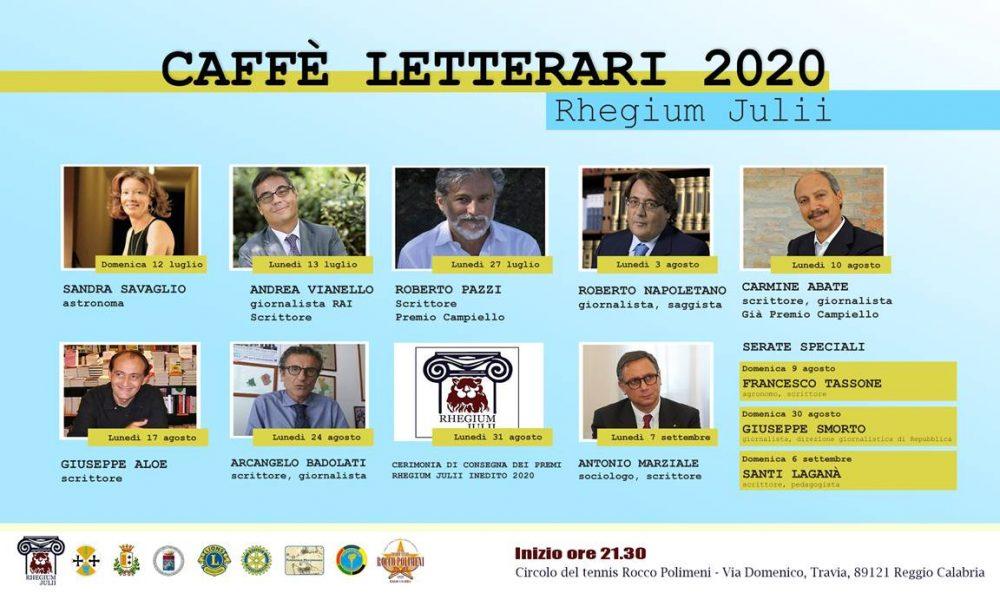 Rhegium Julii - Partecipanti ai Caffe Letterari