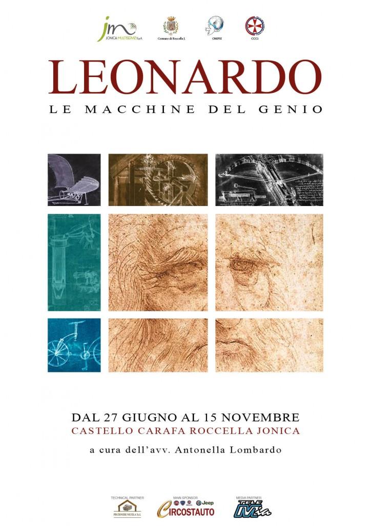 Locandina Mostra Leonardo
