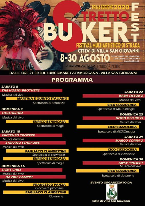 Strettobuskerfest Programma