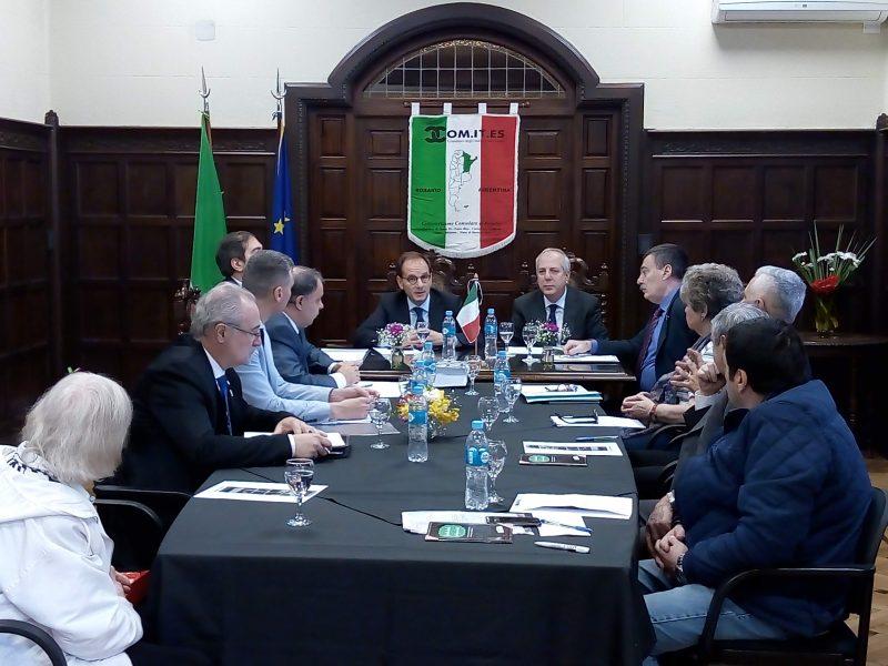 Reunión InterComites