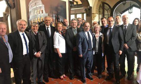 Visita del embajador Giuseppe Manzo