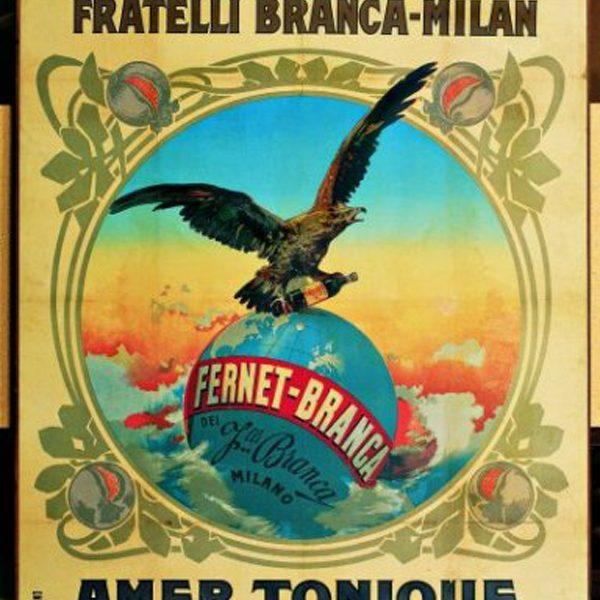 Grafica Publicitaria Fernet Branca