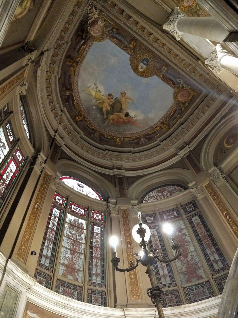 Castagnino - Interior Palacio Santa Ines