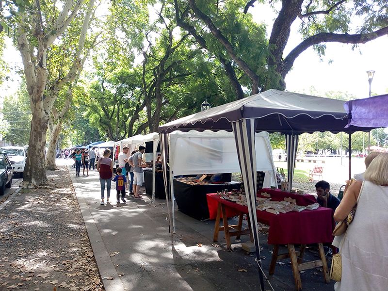 Son tres Las Ferias Los Domingos En El Parque Norte