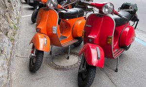 Italian Design Day Vespa De Colores