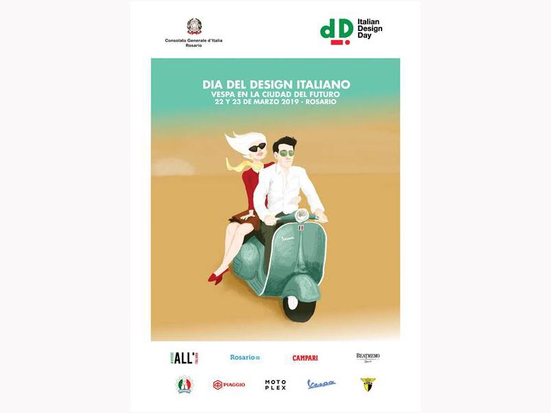 Italian Design Day Afiche