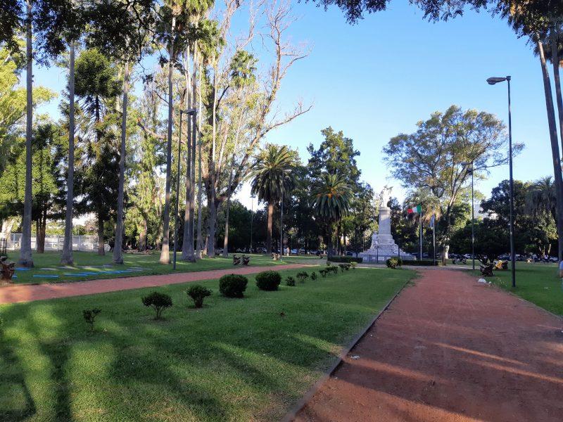 Monumento Garibaldi - Plaza Italia