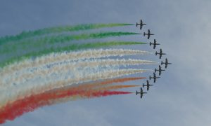 2 de junio - Frecce Tricolori