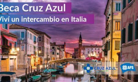 Beca Cruz Azul - intercambio cultural a Italia