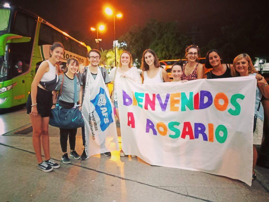 Beca Cruz Azul - Voluntarios reciben estudiantes de intercambio