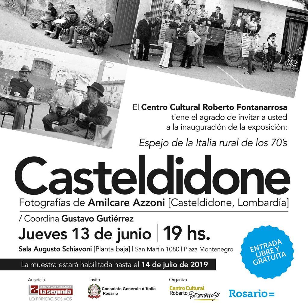 Casteldidone - flyer de la muestra