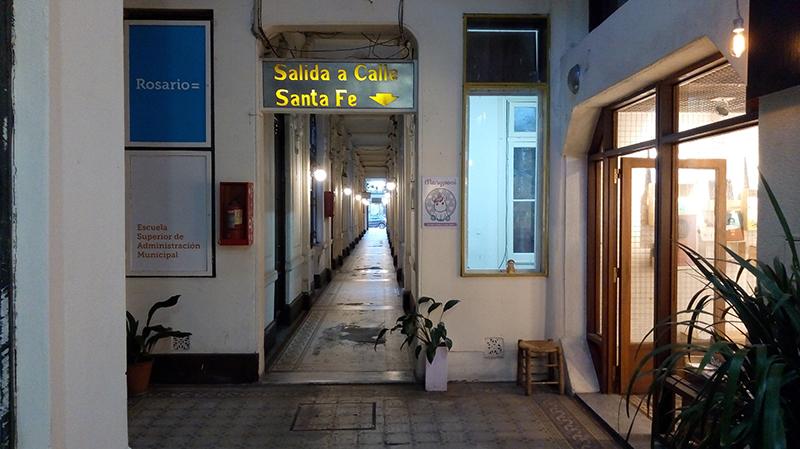 Pasaje Pan - salida Santa Fe