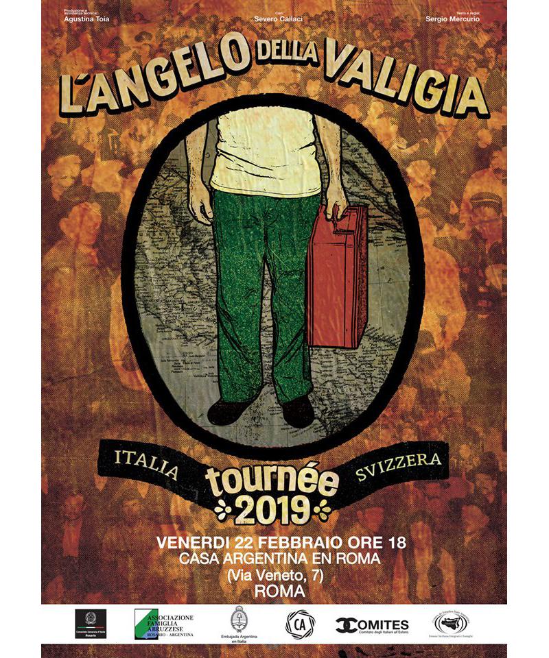 Angelo Della Valigia Afiche