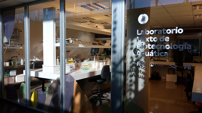 Acuario - laboratorio