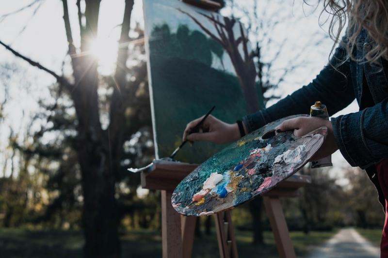 Raíces contemporáneas - Pintar