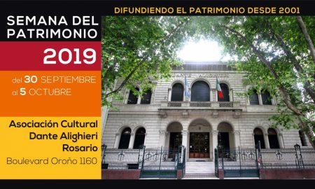 Semana Del Patrimonio 2019 - flyer difusion