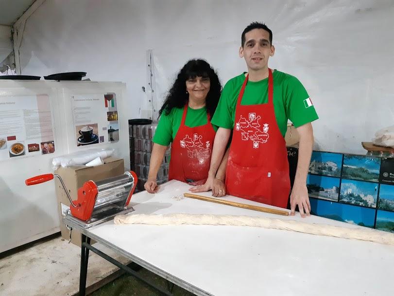 Italia - Cocina de Lazio en Colecctividades