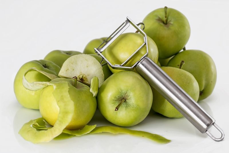 Matambre arrollado - Manzanas
