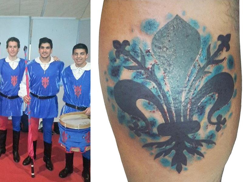 Tatuaje - Flor de lis