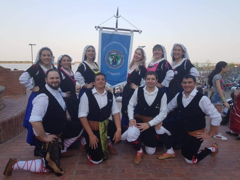 Strinari di Calabria - Los Adultos Del Grupo