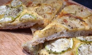 Pizza - Papa y zucchini