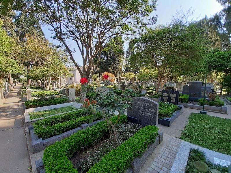 Guillermina Chiodin - Trabajando Relevamiento Cementerio De Disidentes Rosario