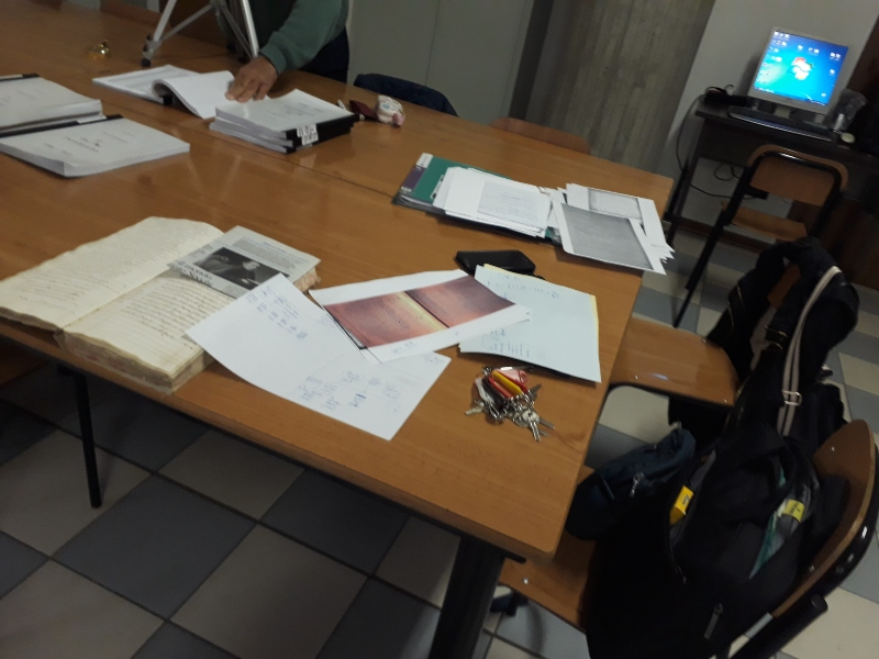 Guillermina Chiodin - Trabajando En El Archivo De Poviglio