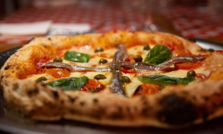Filippa's - Pizza de anchoas