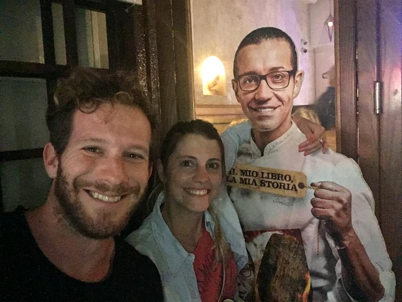 Luciano Grimblat - Pizzeria Sorbillo