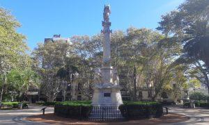 Plaza 25 De Mayo - Vista de frente