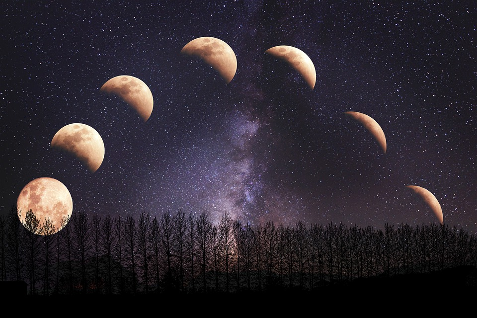 julio - Fases De La Luna