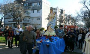 Familia Molisana - Procesión Virgen de las Nieves