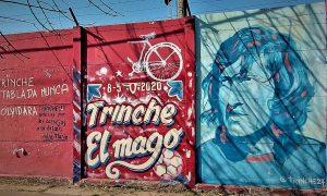 El Trinche Carlovich - Mural
