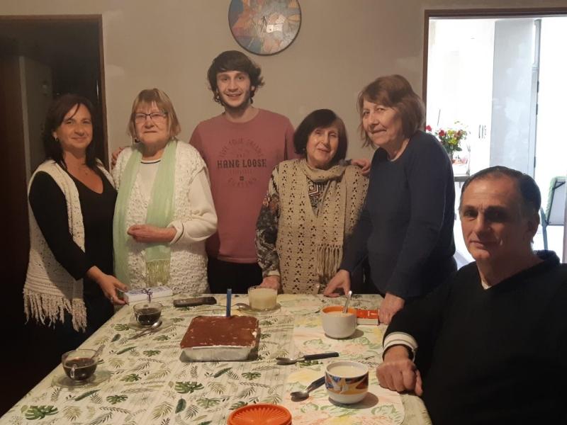 100 años - La familia