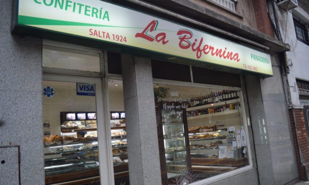 La Bifernina - fachada panadería