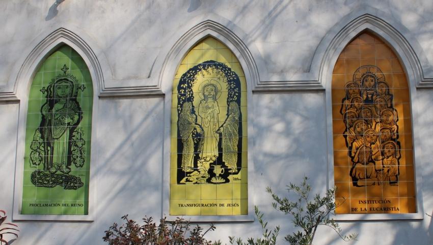 La Basílica Nuestra Señora de Lourdes - Misterios