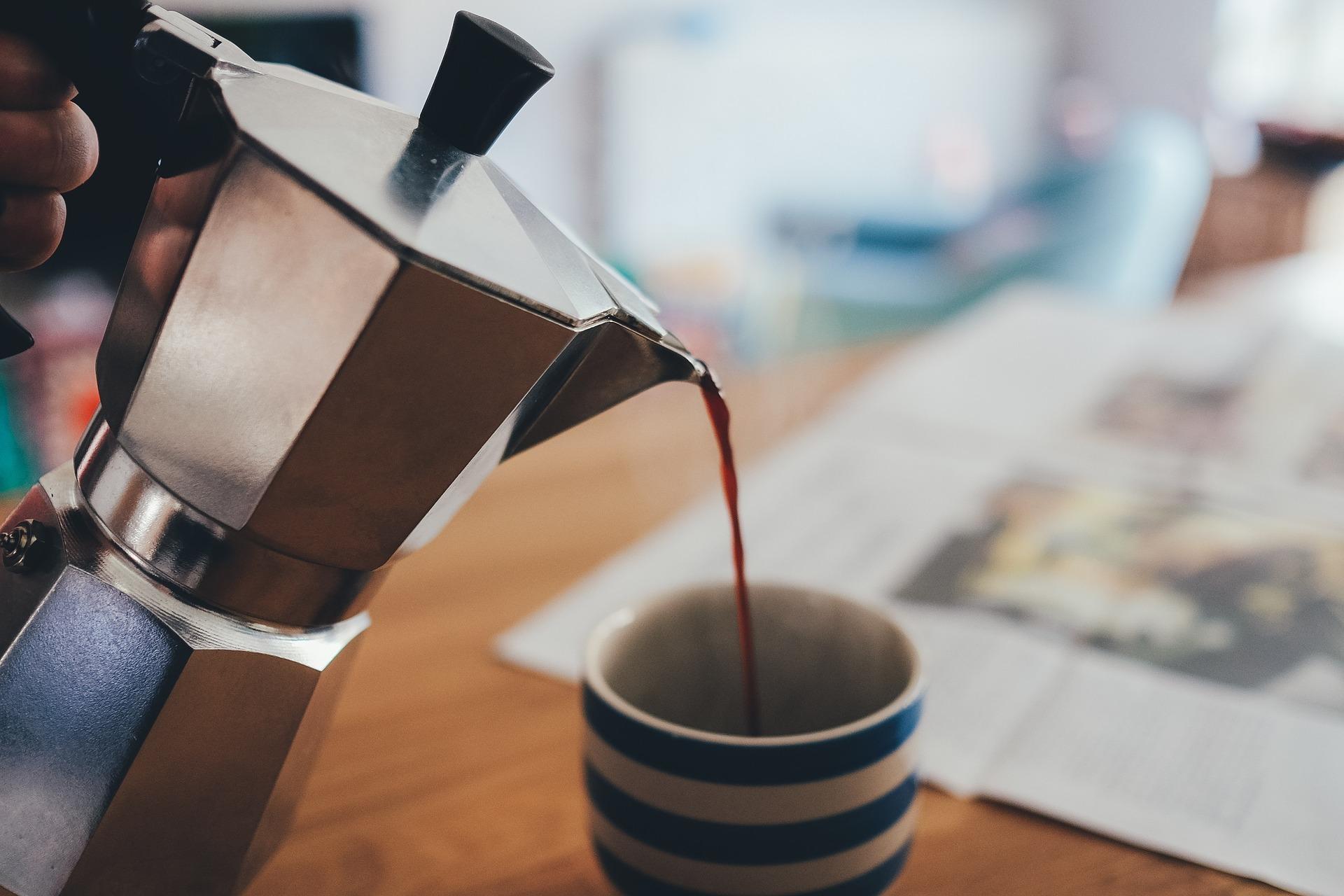 El café - Cafetera Espresso