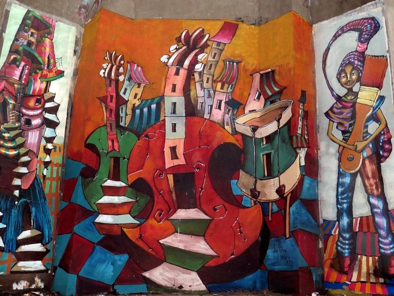 Jorge Molina - Mural Aduana