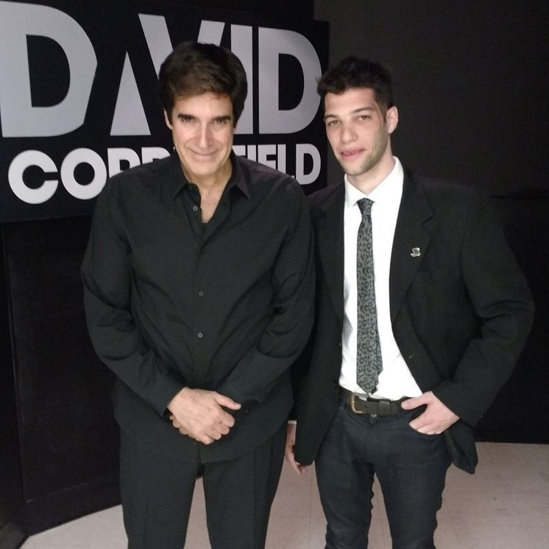 Magia - Axel Con David Copperfield