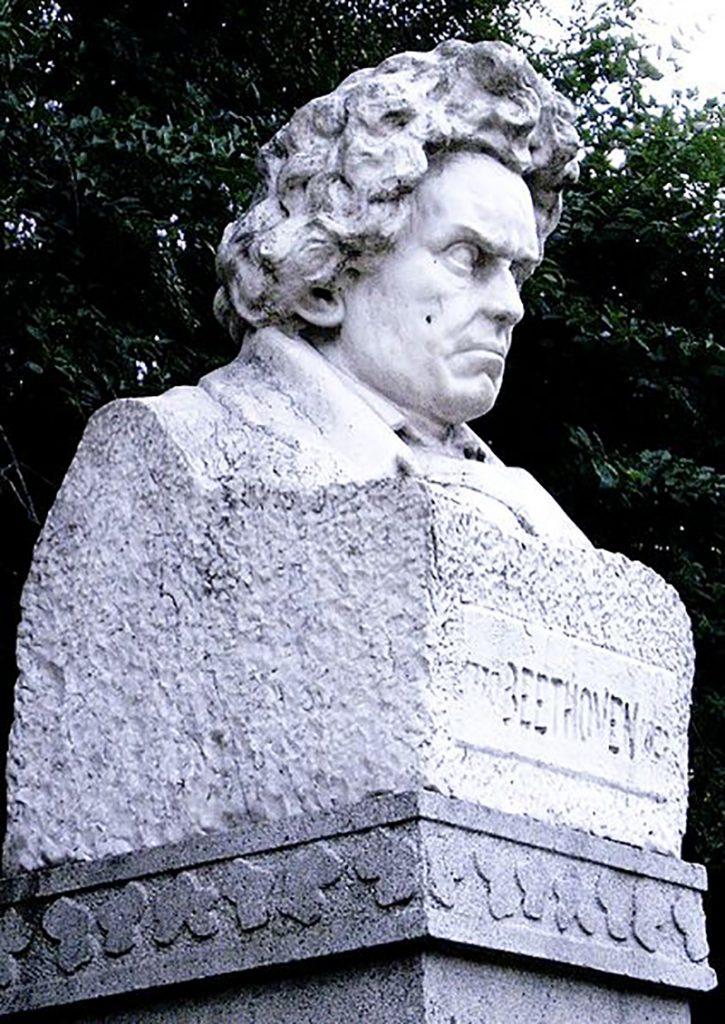 Erminio Blotta Escultura De Beethoven