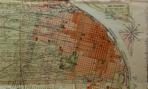 Italianos en Rosario - Mapa De Rosario Antiguo