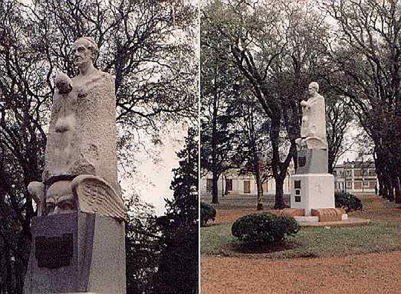 Erminio Blotta Monumento A Alberdi