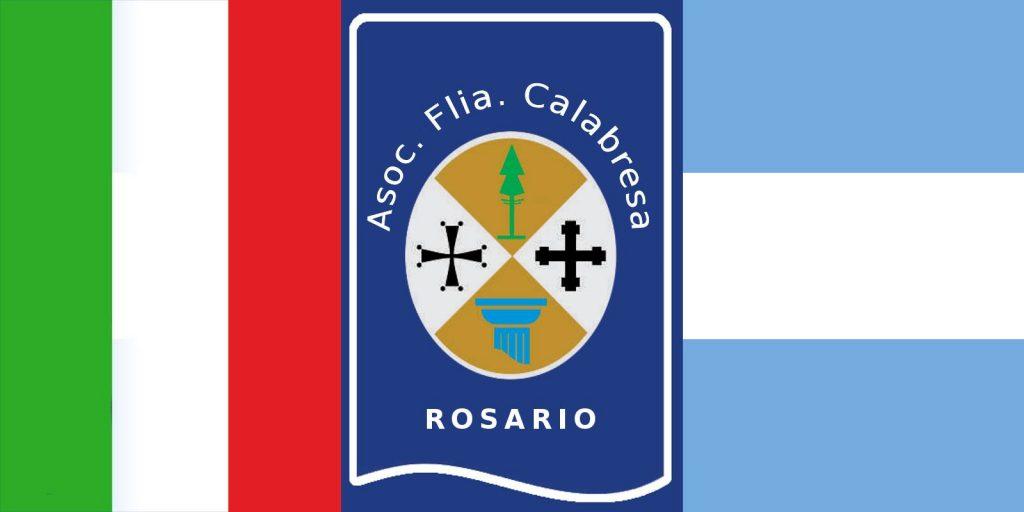 Áyuda desde Calabria - Logo Familia Calabresa De Rosario