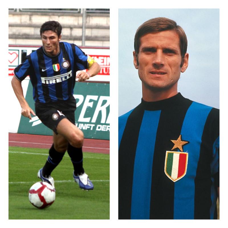 Giacinto Facchetti Y Javier Zanetti
