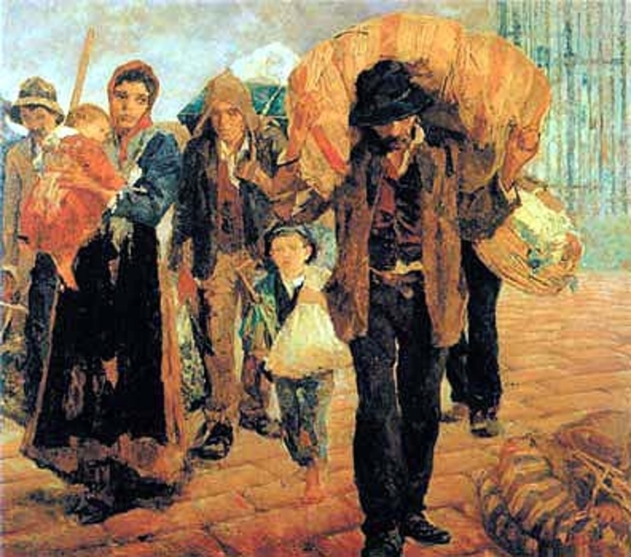 Memoria e Migrazioni - Los Inmigrantes