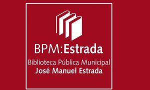 La Biblioteca - Logo Biblioteca Estrada