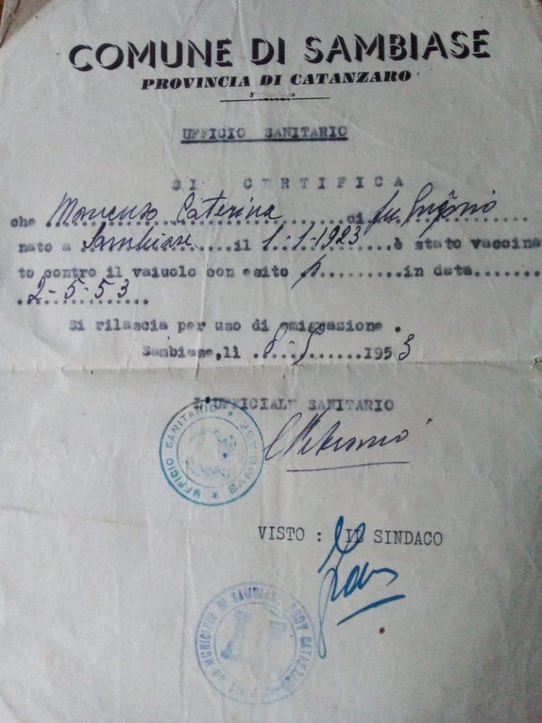 Antonela Dominguez - Certificado De Vacunación