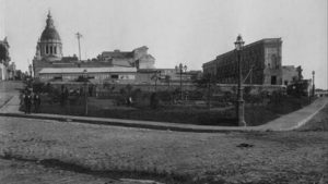 Qué había antes donde está el Monumento - Plaza BrownFoto De La Plaza Brown